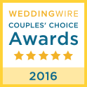 WeddingWire Couple's Choice Awards 2016 Badge