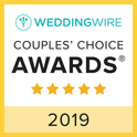 WeddingWire Couple's Choice Awards 2019 Badge